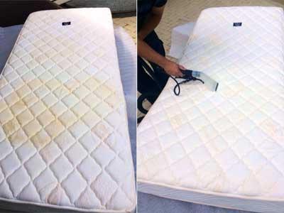 Матрасы на кровати с ламелями